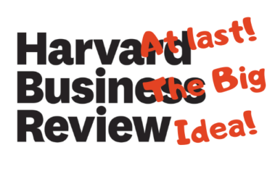 Big idea from Harvard – Excellent!