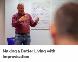 Make a better living with Improvisation course